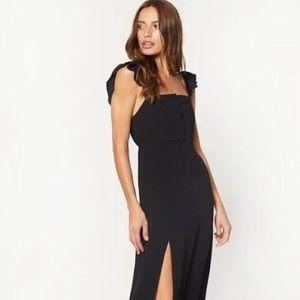Bardot Maxi Dress in black NWT